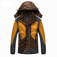 Brand Winter Men Outdoor Waterproof Windproof Mountaineering Jackets Sportswear Waterproof Jacket