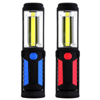 1 LED 1 COB Outdoor Fishing Light Magnetic Work Hand Lamp Emergency Torch