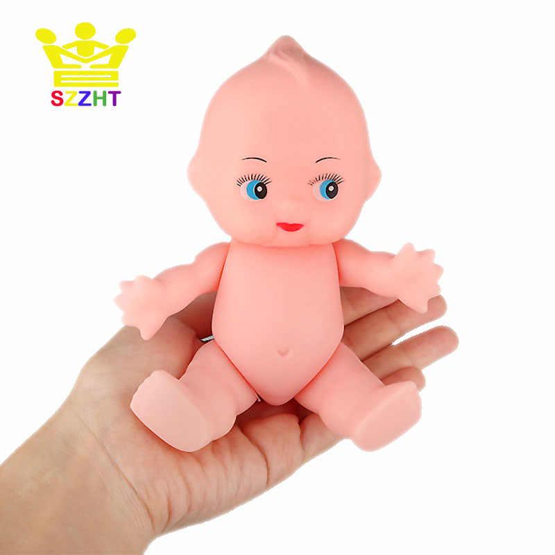 DIY סימולציה רך תינוק אמבטיה בובת צעצועי לחיקוי קיופי תינוקות מלאכות דמות לילדים Reborn יילוד ילד ילדה יום הולדת מתנות