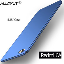Colorful Hard PC Redmi 6A Case Plastic Full Cover Xiaomi Redmi 6A Case redmi 6a Tempered Glass Screen Protector 6A все цены