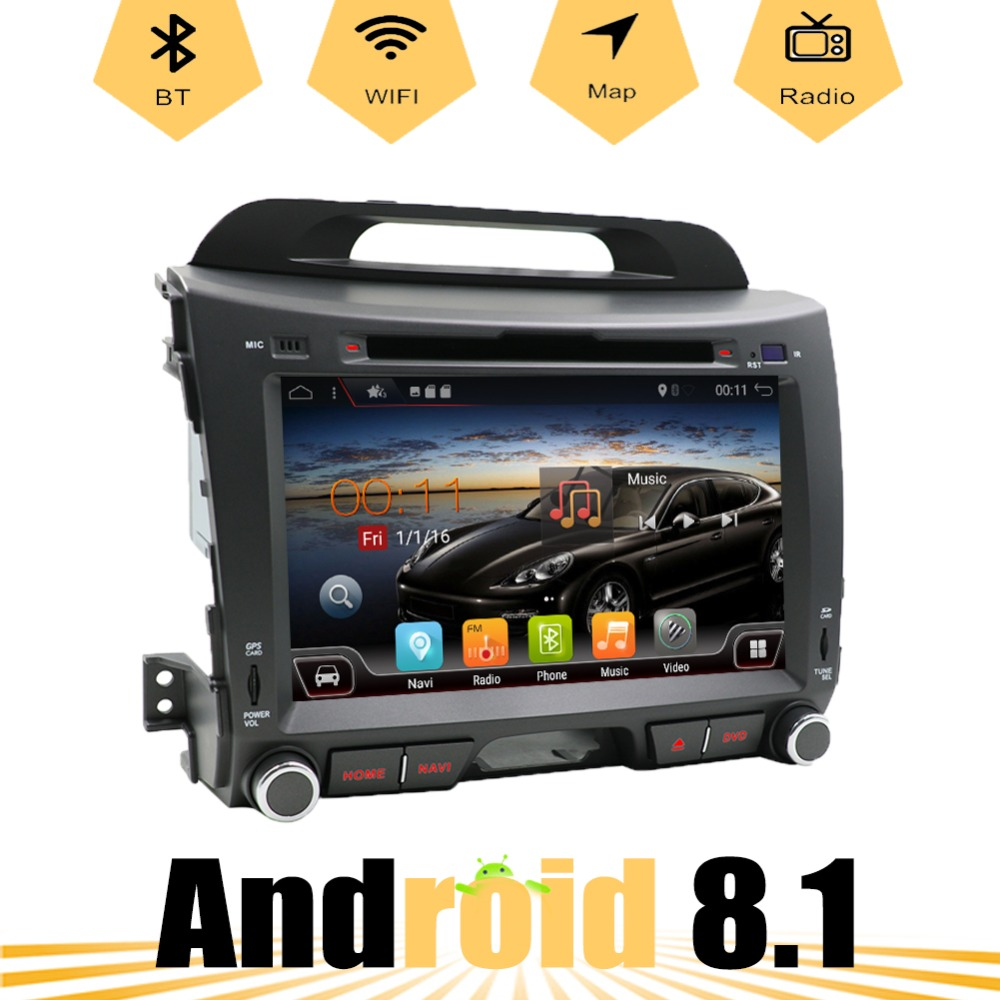 For KIA Sportage 2011-2015 Android 8.1 Octa Cores car dvd player radio stereo gps navigation wifi map rear view cameraFor KIA Sportage 2011-2015 Android 8.1 Octa Cores car dvd player radio stereo gps navigation wifi map rear view camera