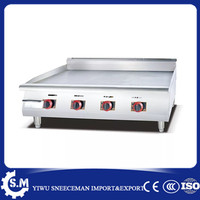 1.2m Commercial gas flat plate griddle grill