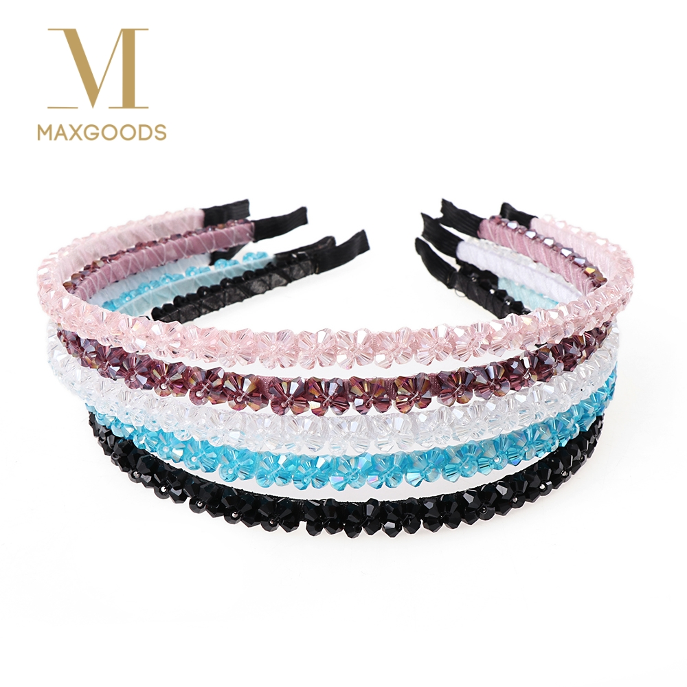 1 Pcs Mode Stirnband Haarbänder Neue Ankunft Metall Shiny Kristall Haarband Schmuck Für Frauen Mädchen Dame Geschenke Haar Mithelfer Der Preis Bleibt Stabil