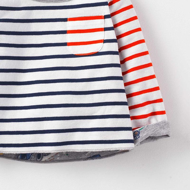 HTB1rsd bGagSKJjy0Fgq6ARqFXaT - SAILEROAD New 2018 Spring Baby Kids Boys Girls Long Sleeve T Shirt Autumn Children Boys Girl's Blouse Shirts Cotton 100%