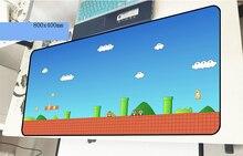 Марио геймерский коврик для мыши высокого класса 800x400x2 мм игровой коврик для мыши горячая Распродажа аксессуары для ноутбуков ПК ноутбук padmouse эргономичный коврик