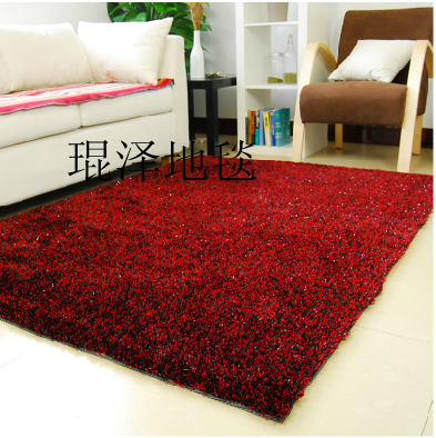 Soie tapis table basse paillasson mur à mur tapis décontracté tapis 160 cm * 230 cm