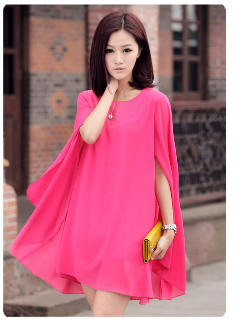 8b6f86e0db 8 COLOR Fat Women Cloak Loose Plus Size Maternity Clothes Chiffon Shirt Vintage  Tops for Pregnant