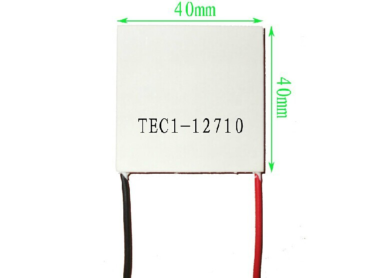 TEC1-12710 10A 40mm*40mm Ceramics Semiconductor Refrigeration Cooling Peltier tec1 12710 85w semiconductor refrigeration part