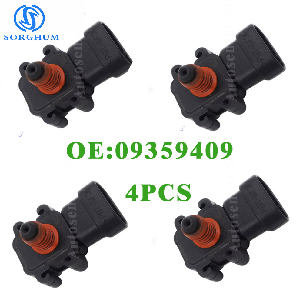 Manifold Absolute Barometric Pressure MAP Sensor For Buick GMC Chevy 09359409