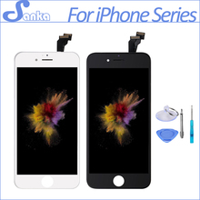 SANKA For iPhone 5 5S 6 6PLUS 6S LCD Display Module Touch Screen Digitizer Replacement Phone Parts Lcd Screen Assembly