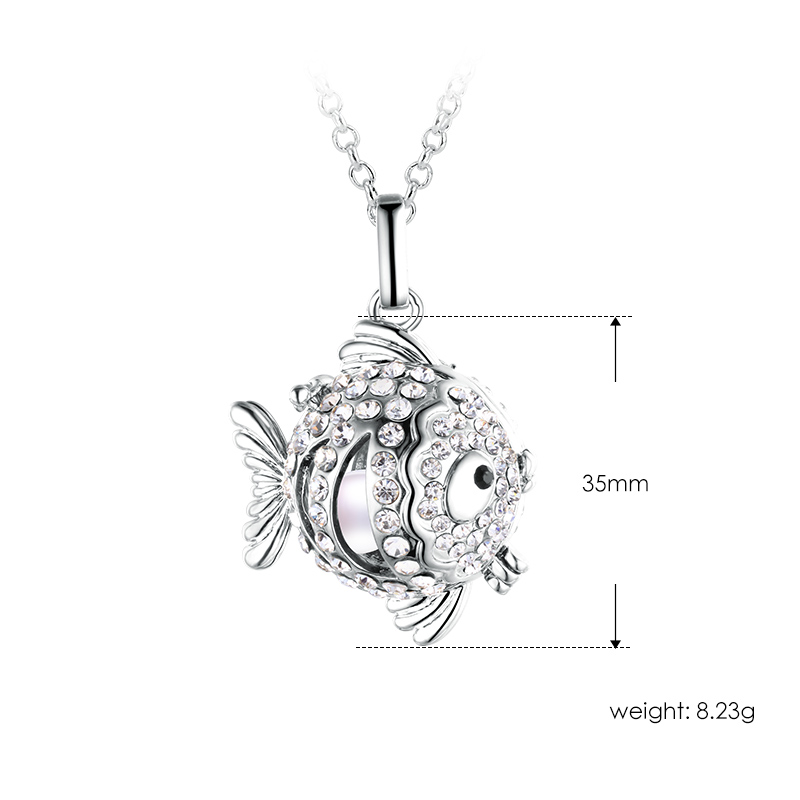 Danashi 3 Amazing Types Cage Pearl Pendant, AAAA Genuine Pearl Cage Jewelry ,Fashion Necklace/Sweather Chain for Christmas Gifts