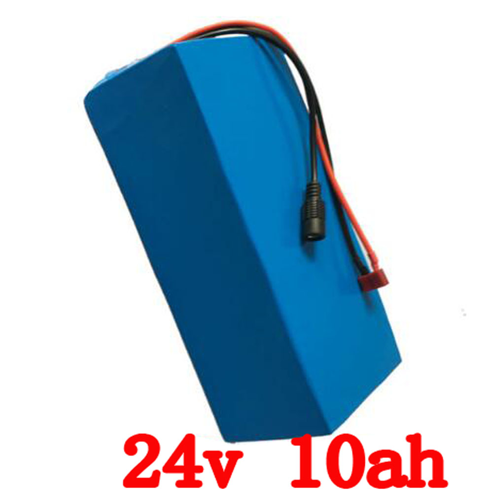 EU US no 24V 10AH electric bike LiFePO4 battery li-ion lithium battery 1500 times cycle with charger BMS PVC case eu us no tax 24v 10ah battery pack lithium 24v 200w e bike li ion 24v lithium bms electric bike battery 24v 10ah 200w motor 2
