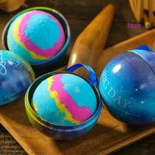 Small Size Home Hotel Bathroom Bath Salt Ball Bomb Aromatherapy Type Body Cleaner Handmade Bombs