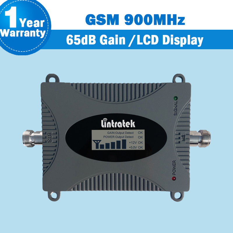 GSM 900 Cellular Signal Amplifier 2G 900mhz Gsm Network Repeater GSM Cellphone Signal Booster 65dB 16dBm Amplifier Repetidor S41