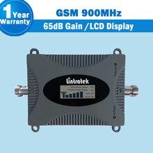 GSM 900 Sinal De Celular Amplificador 2g 900 mhz Rede De Telefonia móvel Repetidor de Sinal de Celular GSM Impulsionador 65dB 16dBm Amplificador amplificador de sinal de telefone Dados 2g e voz com display lcd gsm 900