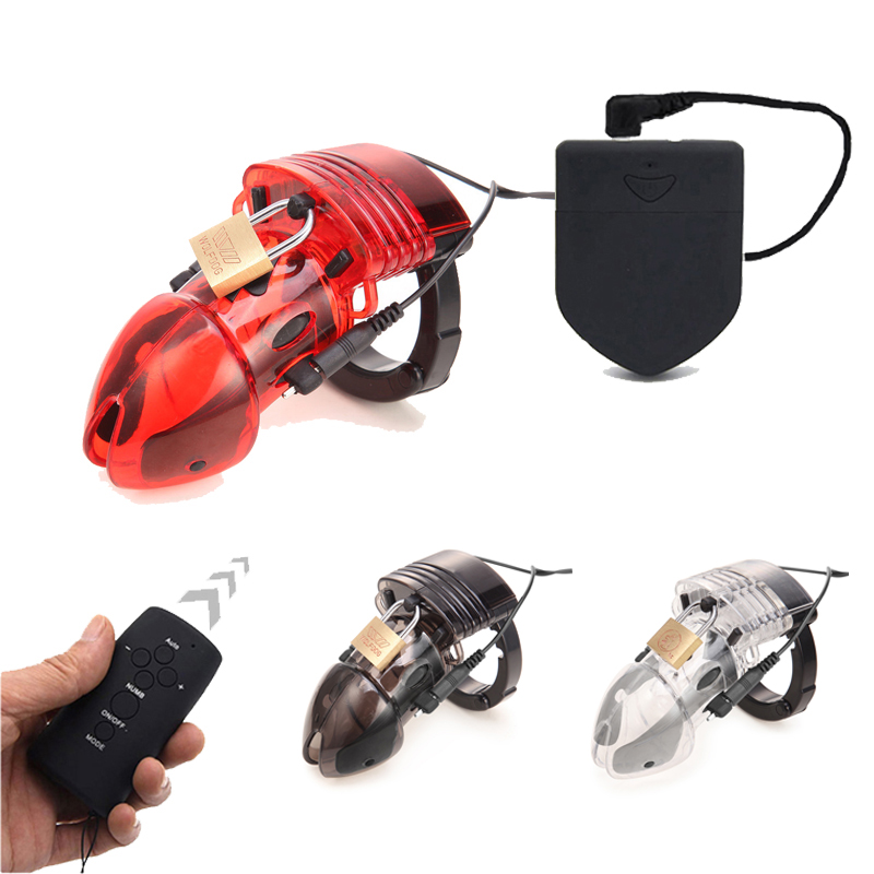 Electric Shock CB6000S Male Chastity Belt Device Electro Cock Cage Device Lockdown,Penis Ring Medical Themed Sex Toys For Men