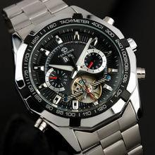 FORSINING Hommes Montres 2016 Tourbillon Horloge Hommes Montre Automatique Squelette Militaire Montre Mécanique Relogio Mâle Erkek Saat