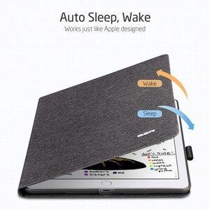 """Image 5 - IPad Air 3 2019 용 ESR 케이스 Simplicity Oxford Cloth iPad Air 3 10.5 """"2019 용 연필 홀더가있는 PU 가죽 스마트 커버 폴리오"""