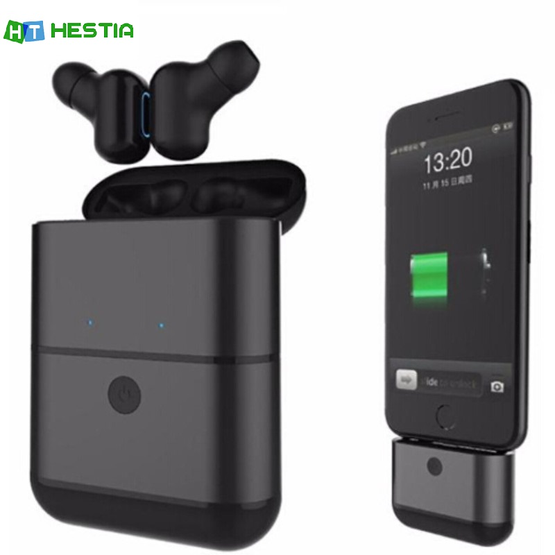 HESTIA X2 TWS Mini Earbuds True Wireless Sport Earphones Bluetooth Stereo Handsfree Headset For Apple Mobile Phone IPhone Xiaomi