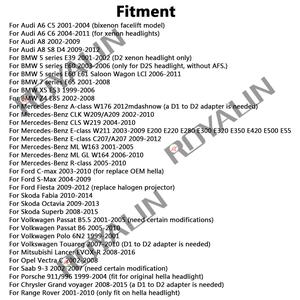 Image 5 - ROYALIN faro delantero EVOX R para BMW, E39, E60, Ford, Audi A6, C5, C6, W211, Passat B6, Skoda Fabia, 2,0
