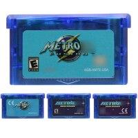 Video Game Cartridge 32 Bit Game Console Card Metroidd Series