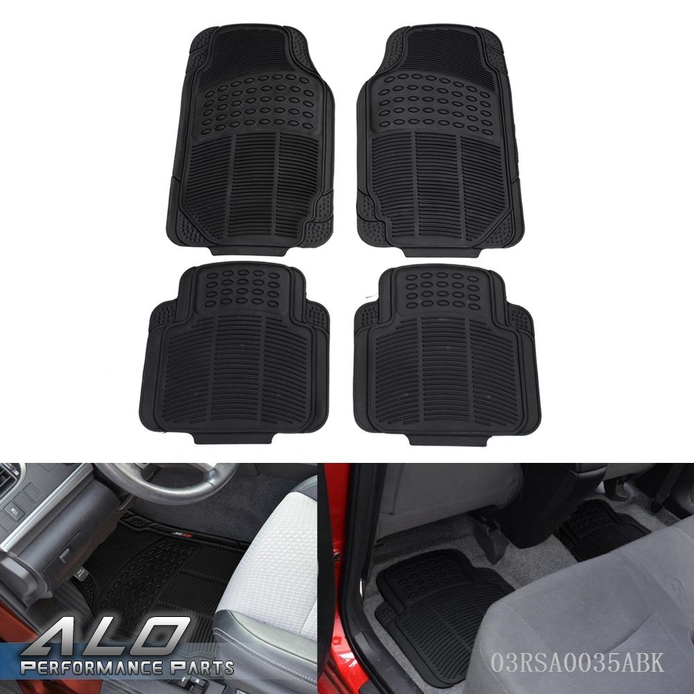 Rubber floor mats nissan rogue - Shipping From Us 4pcs Car Truck Suv Van Custom Pvc Rubber Floor Mats Carpet Front