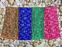 Hot Selling Nigerian net Lace Fabric African Lace Fabric with stones High Quality embroidered Lace fabric