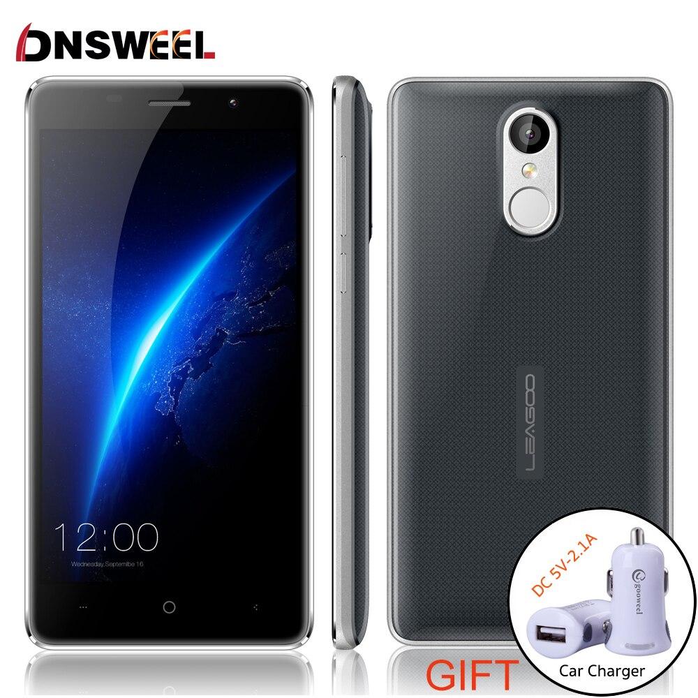 """Цена за Leagoo M5 3 Г Мобильный Телефон 5.0 """"1280x720 MT6580A Quad Core смартфон Android 6.0 2 ГБ RAM 16 ГБ ROM 8.0MP 2300 мАч Отпечатков Пальцев ID"""