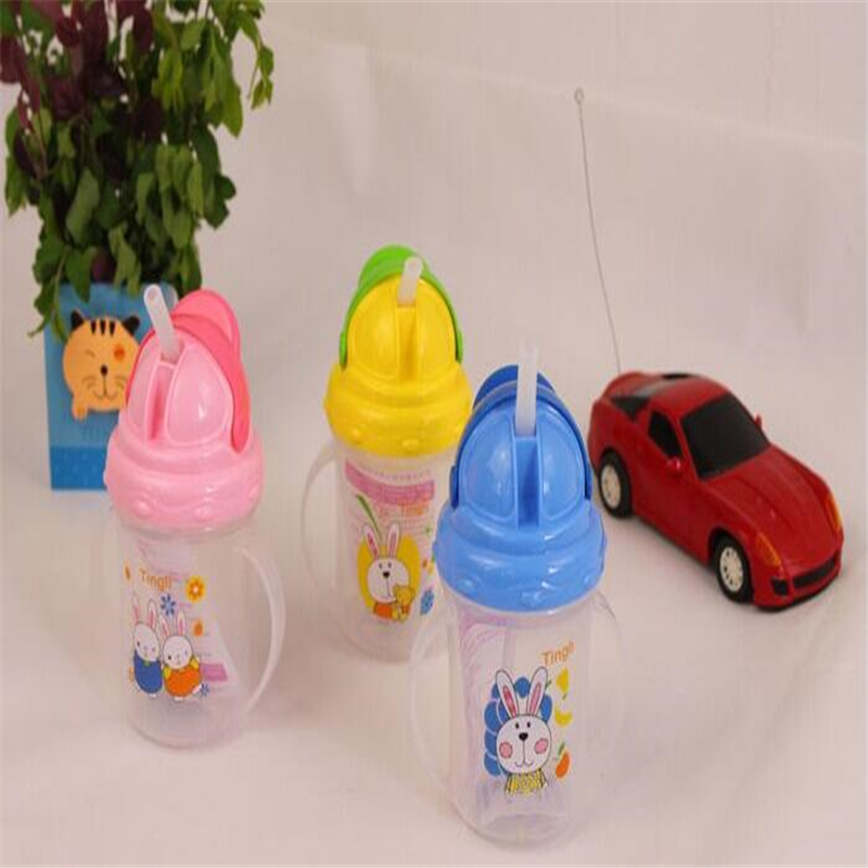 1 Unids Bebé de Dibujos Animados Niños PP De Plástico Taza De Paja - Alimentación - foto 5