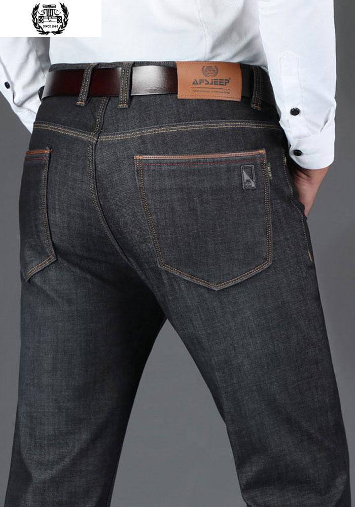 83580e887c90 42 2019 Jeans Della Vestiti Di Uomo Da Del Colore 30 Blue Pantaloni  Militare Uomini Autunno Marca Solido ...