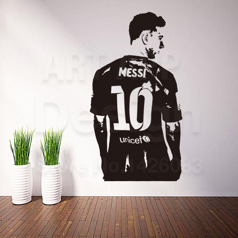 Good Quality Art New Design Home Decoration Football Messi