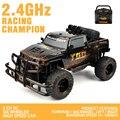 ET Original YE81405 2.4G 1/10 Escala RC Coche 20 KM + RC Cepillado RTR Monster Truck Off-road Coche Ajustar la velocidad Del Coche de RC vehículos