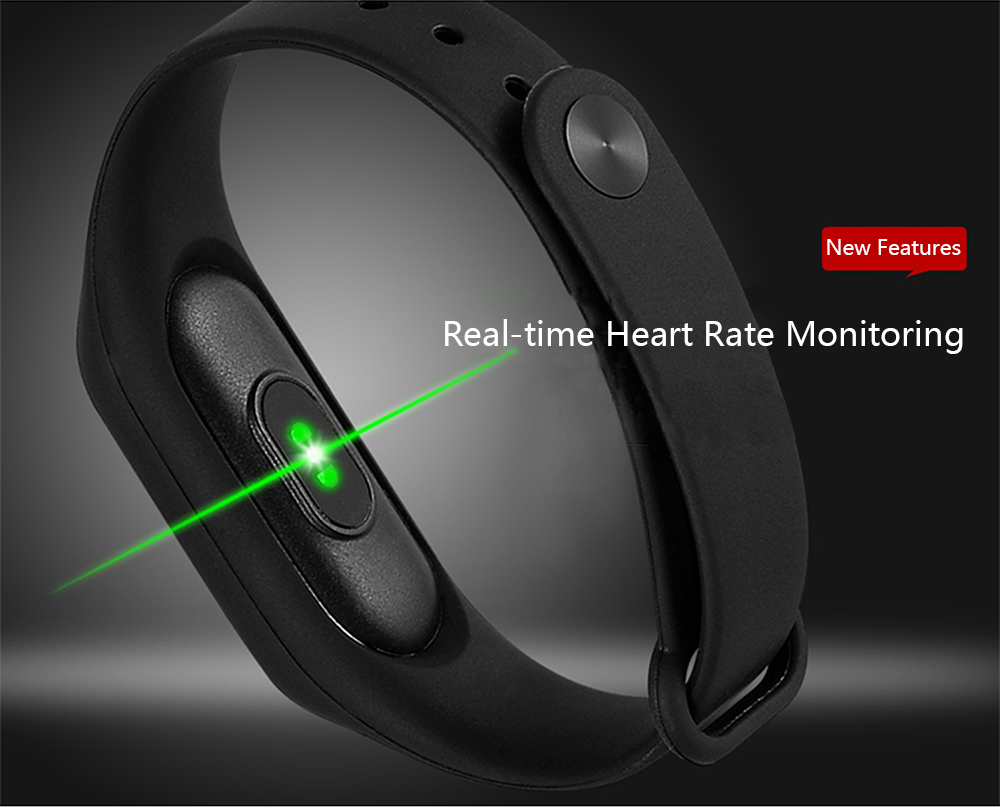 Cheap L2 Smart Fitness Bracelet Heart Rate Monitor Watch Clock Pedometer Activity Tracker For IOS/Xiaomi/Honor PK Mi Band 2/3/4 17