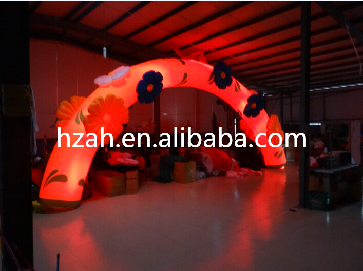 Lighted Flower Inflatable Archway for Advertising lighted inflatable tree for advertising decoration