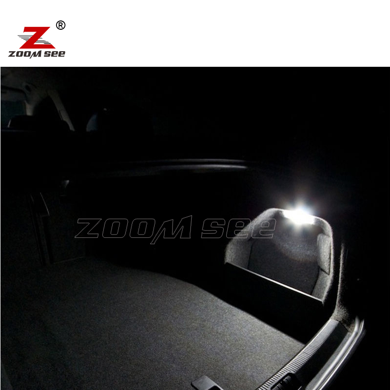 10pcs LED Light Interior Dome Map Lights Bulb Kit For Seat Accessories For Toledo 3 MK3 5P 5P2 (2005-2009)