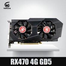 Видеокарта компьютерные veineda RX 470 4 г push GTX 1060 графическая карта instantkill GTX 1050 ti GTX 750 ti для NVIDIA GeForce игры