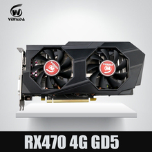 Video Card Computer Veineda RX 470 4G push GTX 1060 Graphic Card  InstantKill gtx 1050 ti gtx 750 ti for nvidia geforce games