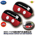 car accessories mickey mouse cartoon car seat headrests (1 Pair) WDC-112 free shipping