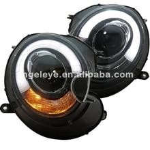 For BMW MINI Copper Clubman R55 R56 R57 LED Head Light for original car no HID 2007-2013 year SN