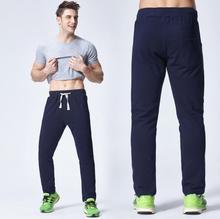 Men Pants Slim Fit Eelastic Waist Men's Trousers Sweatpants Male Cotton Casual Fashion Long Pants Mens Joggers Pants Outdoors