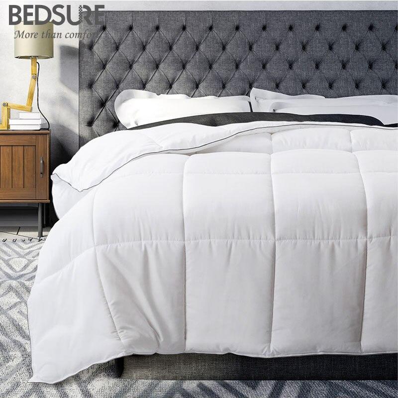 hot sale online 35c29 64684 Bedsure White Warm Comforter Duvet Insert with Corner Ties ...