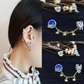 2016 Latest Earrings Fashion Trendy Korean Cute Women Girl Elegant  Planet Rabbit Cat Stars Ear Clip Earrings Jewelry