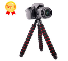 large Size Load-Bearing to 5KG Gorillapod Type Monopod Flexible Tripod Leg Mini Tripods for Digital Camera Holder