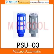 Plastic silencer muffler PSU-03 thread 3/8″ PSU type plastic timing muffler air connector