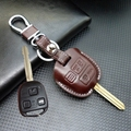 fob Key wallet for Prado For TOYOTA Camry Corolla suits lexus LS LX NX RC RX 2 3 buttons key case shell key holder accessories