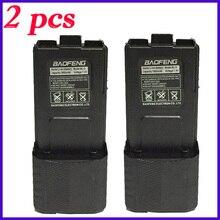 2pcs Full Capacity Big 7.4v uv 5r 3800 mah Baofeng Accessories For Radio Walkie Talkie 3800mah uv5r uv 5re UV 5R baofeng battery