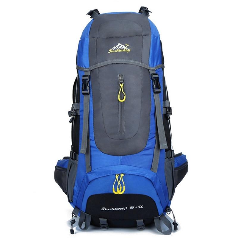 ФОТО FengTu Sport Outdoor Climbing Bags 70L Waterproof Hiking Backpack Men and Women Bag  Multifunction Travel Mackpack