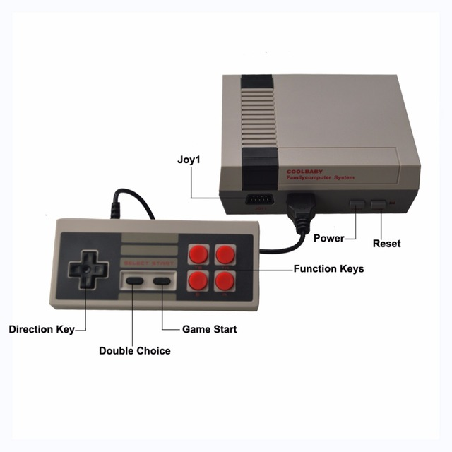 HDMI/AV Output Mini Handheld Game Console Retro TV Video Game Console For Nes Games With 500 Different Built-in Games PAL&NTSC