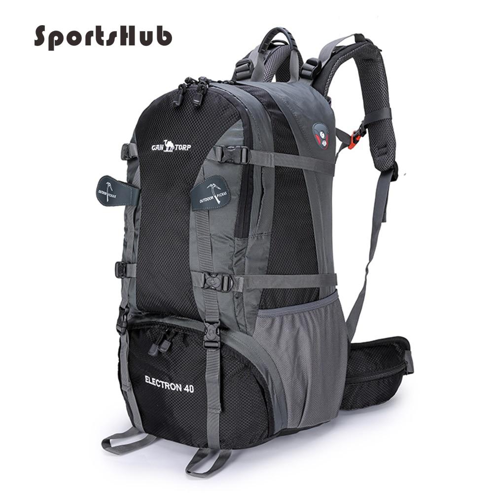SPORTSHUB 50L unisexe sacs de plein air étanche Nylon sport sac à dos cadre interne randonnée Camping cyclisme sacs à dos SB0017