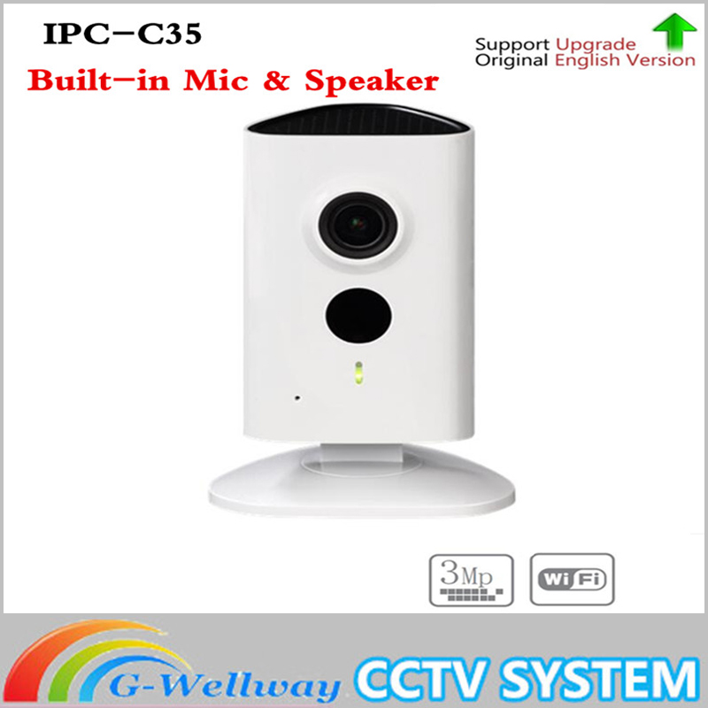 IPC-C35 3MP C Series Wi-Fi Network IP Camera 120 degrees View angle Micro SD card local storage night vision Without Logo цена